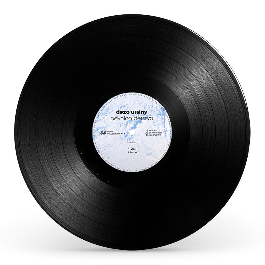 Pevnina detstva (LP)