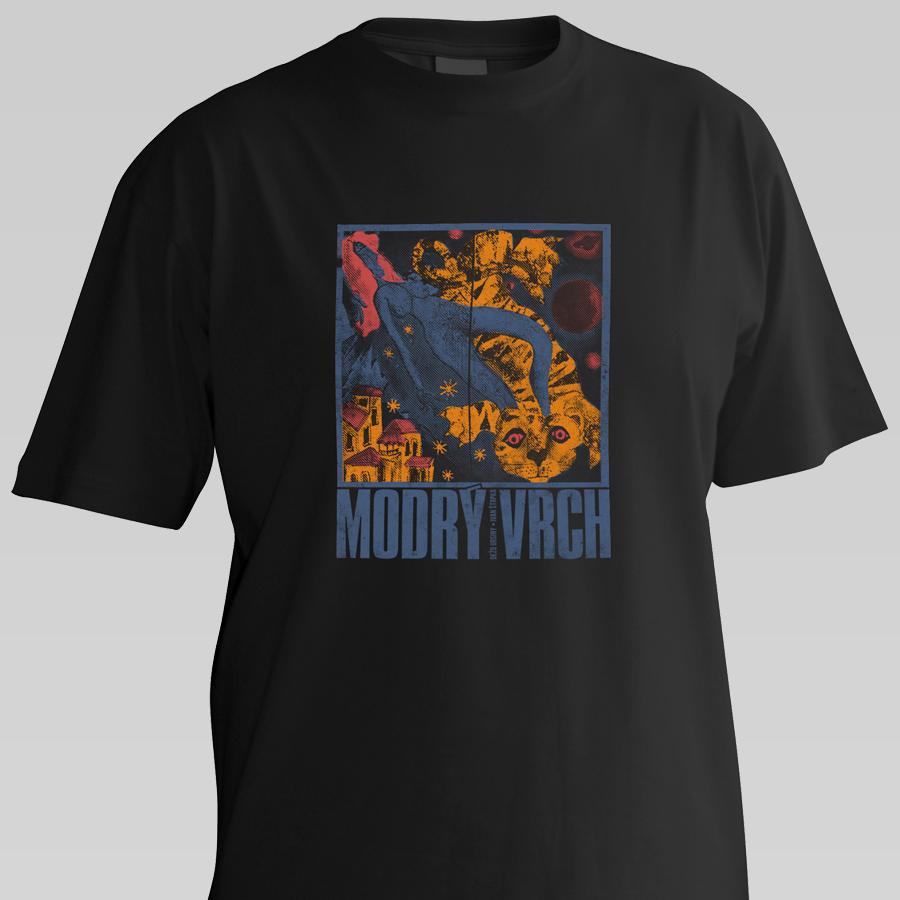 Modrý vrch (tričko, pánske)
